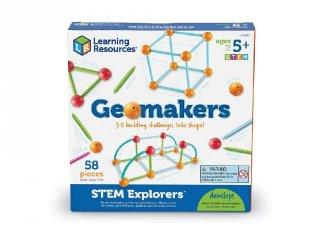 Geomakers térbeli építőjáték (9293, Learning Resources, STEM Explorers, 5-9 év)