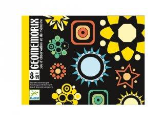 Geomemorix, kártyajáték (Djeco, 5182, memória játék, 8-99 év)
