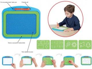 Geometriai kiszúrós rajzoló (Akros, kreatív kézügyesség fejlesztő szett, 4-14 év)