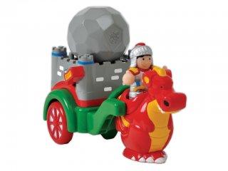 George, a középkori kőhajító (Wow Toys, lovagos-sárkányos játék, 1-5 év)