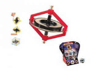 Giroszkóp, pörgettyű (Navir, N-6010-CB, tudományos játék, 6-14 év)