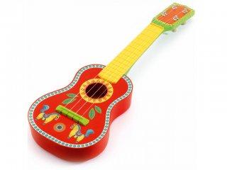 Gitár, Ukulélé (Djeco, 6013, Animambo lovas fa hangszer, 3-7 év)