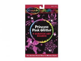 Glitteres hercegnő karckép, Melissa (5810 kreatív szett, 4-8 év)