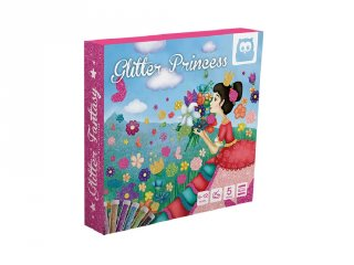 Glitteres hercegnők, képkészítő kreatív készlet (6-12 év)