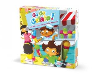 Go Go Gelato, fagyikészítő társasjáték (BO, ügyességi logikai játék, 6-99 év)