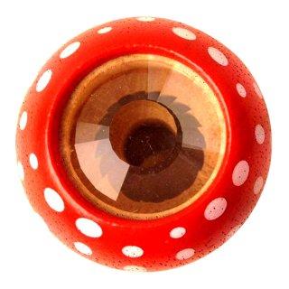 Gomba kaleidoszkóp piros, tudományos játék fából (PT, 4317 001)