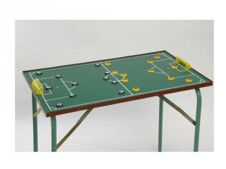 Gombfoci asztal nyitható lábbal, focis ügyességi játék (10-99 év)