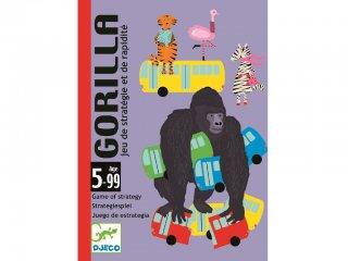 Gorilla (Djeco, 5123, csapkodós Uno kártyajáték, 5-99 év)