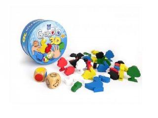 Grabolo 3D (stragoo, memória reflexjáték színekkel és formákkal, 4-10 év)