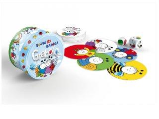 Grabolo Bogyó és Babóca memória reflexjáték színekkel és formákkal (3-6 év)