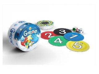 Grabolo (stragoo, memória reflexjáték színekkel és számokkal, 6-99 év)