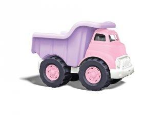 Green Toys Dömper, pink autós játék