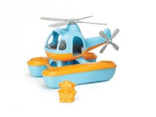 Green Toys kék vizi helikopter, fürdőjáték