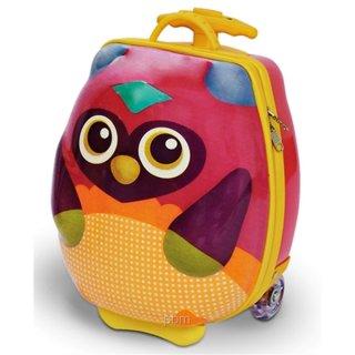 Gurulós bőrönd, baglyos (Oops, 2-8 év)