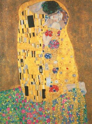 Gustav Klimt: Csók puzzle, 500 db-os kirakó (CLEM, 8-99 év)