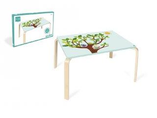 Gyerek asztal Baglyos, gyerekbútor (Scratch, 3-6 év)