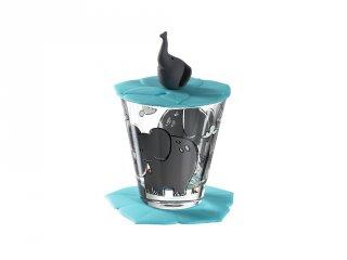 Gyerek pohár készlet 3 részes, Elefánt - Leonardo