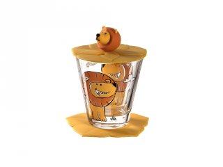 Gyerek pohár készlet 3 részes, Oroszlán - Leonardo
