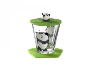 Gyerek pohár készlet 3 részes, Panda - Leonardo