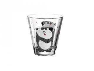 Gyerek pohár üvegből, Panda - Leonardo