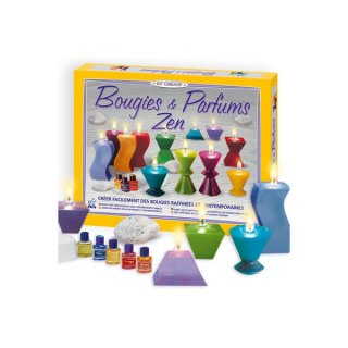 Gyertyák és illatok készlet (SentoSphére, kreatív illatos gyertya készítő készlet, 8-99 év)