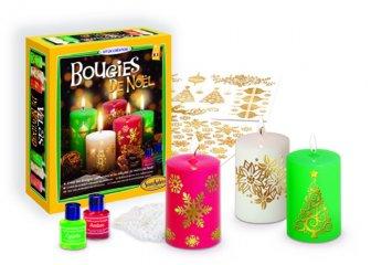 Gyertyaöntő készlet, Karácsonyi gyertyák (SentoSphére, kreatív készlet, 8-12 év)