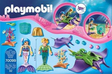Gyöngygyűjtők rájákkal, Playmobil szerepjáték (70099, 4-10 év)