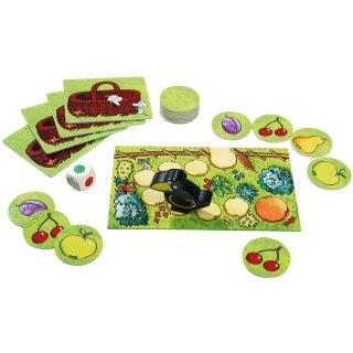 Gyümölcsöskert memória, Haba kooperatív társasjáték (3-7 év)