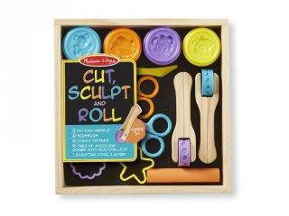 Gyurma formázó készlet, vibráló színek (Melissa&Doug, kreatív játék, 3-7 év)