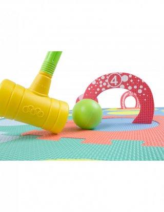 Habszivacs Mini krikett szett, ügyességi játék