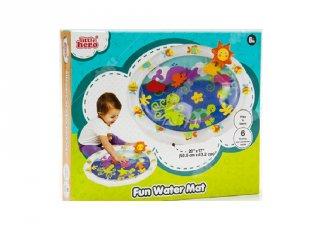 Halacskás baba játszómatrac, bébijáték (6 hó-2 év)