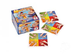 Hands up - Kezeket fel!, mutogatós családi kártyajáték (6-99 év)