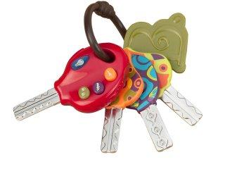 Hangot adó kulcscsomó (B.Toys, zenélő gyerekjáték, 1-5 év)