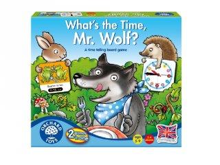 Hány óra van, Farkas koma? (OR, óra megtanulását segítő társasjáték, 5-9 év)