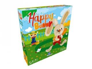 Happy Bunny, kooperációs társasjáték (első társasjáték, 3-6 év)