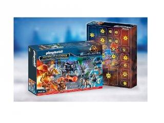 Harc a varázslatos kőért Playmobil Adventi naptár