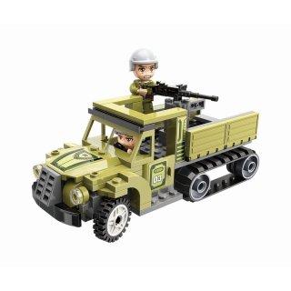 Harcoló egységek, 4 az 1-ben Lego kompatibilis építőjáték készlet (QMAN, 1731, 6-12 év)
