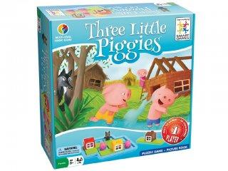 Három kismalac (Smart Games, logikai játék óvodásoknak, 3-6 év)