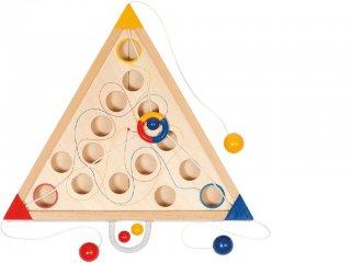 Háromszög (Goki, ügyességi fa társasjáték, 4-12 év)