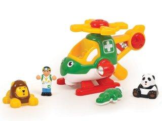 Harry, az állatmentő helikopter (Wow Toys, 18 hó-5 év)