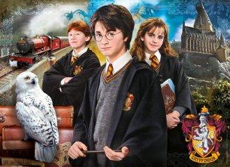 Harry Potter kirakó bőröndben, 1000 db-os puzzle (CLEM, 9-99 év)