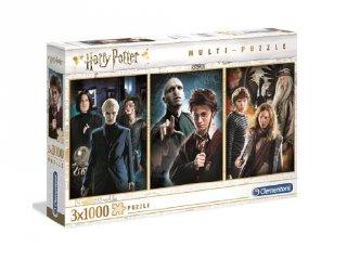 Harry Potter kirakó szett, 3x1000 db-os puzzle (CLEM, 9-99 év)