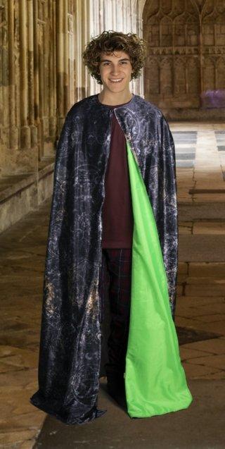 Harry Potter Láthatatlanná tévő köpeny, szerepjáték, jelmez (6-14 év)
