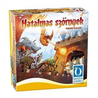 Hatalmas szörnyek (Queen Games, 794797, stratégiai kártyás társasjáték, 8-99 év)
