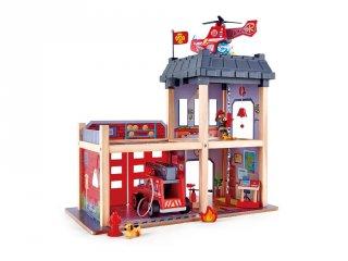 Hatalmas tűzoltóállomás, Hape szerepjáték fából (3023, 3-7 év)