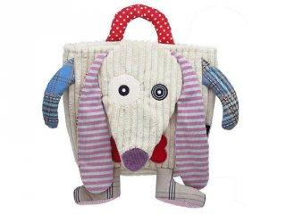 Hátitáska, NONOS, a kutya, (D, 35005, puha, színes, mókás hátizsák, 1-7 év)