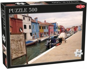 Házak, 500 db-os puzzle (Tactic, 53336, puzzle 500 db, 6-99 év)