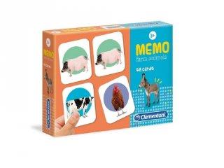 Háziállatok memóriajáték, társasjáték (CLEM, 3-6 év)