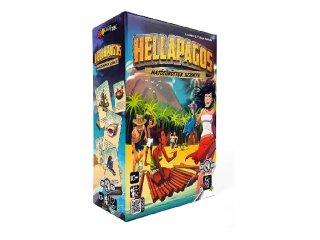 Hellapagos, party társasjáték (kommunikációs, együttműködő játék, 8-99 év)