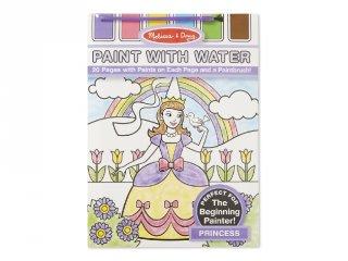 Hercegnő, vízzel festős kreatív készlet (MD, 4166)